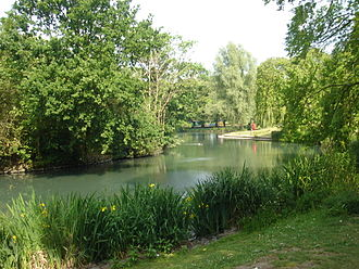 Pymmes Park - The lake