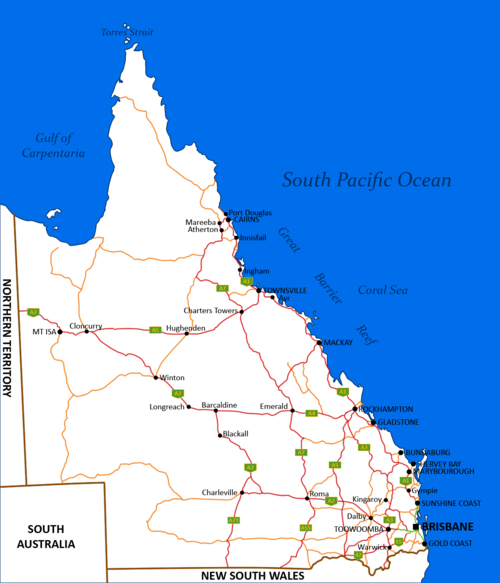 List of highways in Queensland Wikipedia