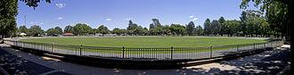 Queanbeyan District Cricket Club - Queanbeyan Park oval by Bidgee