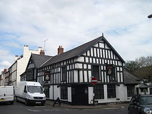 Queens Head, Monmouth - Image: Queens Head Pub Monmouth