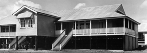 Boondall - New classroom and teachers room, Boondall State School, April 1951