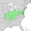 Quercus palustris range map 1.png