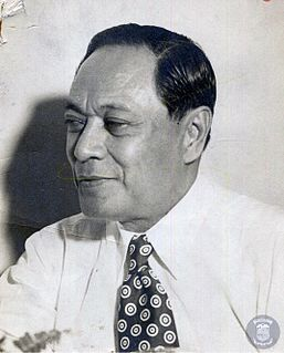 Quintín Paredes 5th President of the Senate of the Philippines