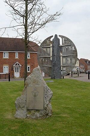 RAF Wroughton - Hospital memorial