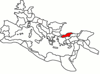Bithynia region in Anatolia