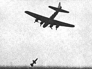 RIM-8 Talos intercepting B-17 target drone in 1957