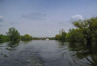 Nadela river in Serbia