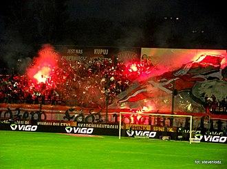 Widzew Łódź - Ultras of Widzew
