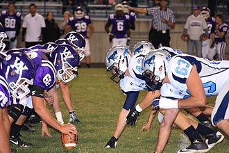 Ralston Valley High School - Ralston Valley vs. area rival, Arvada West
