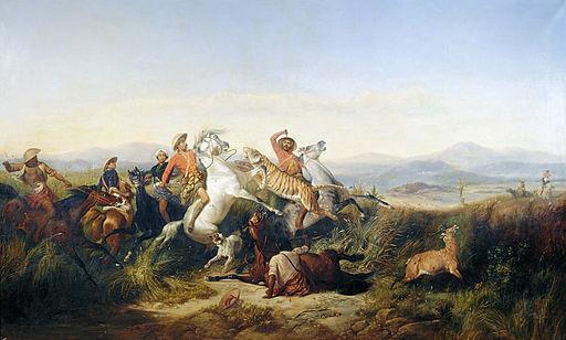 Raden Saleh - hunt
