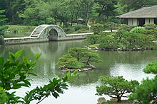 Rainbow bridge in Shukkei-en Hiroshima.jpg