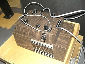 "Magnavox Odyssey - The ""Brown Box"" prototype"