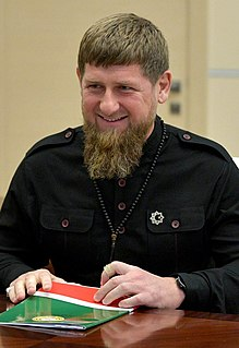 President of Chechnya