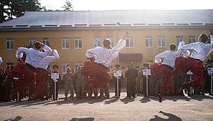 Hopak - Hopak by Military Ukrainian Dance Ensemble