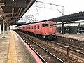 Rapid train for Masuda Station at Shin-Yamaguchi Station.jpg