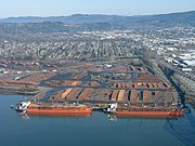 Raw log export, Longview, Washington