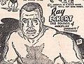 Ray Eckert - Wrestling Program - 27 February 1951 (cropped).jpg