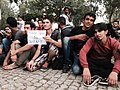 Refugees wait at a camp in Edirne, Turkey, September 22, 2015.jpg