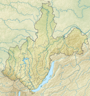 300px relief map of irkutsk oblast
