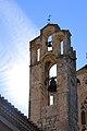 Rellotge de sol, costat dret inferior del campanar de l'església del Monestir de Poblet, Conca de Barberà. Tarragona.jpg
