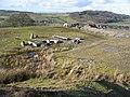 Remains of Quarry Buildings below Llantysilio Mountain - geograph.org.uk - 354154.jpg