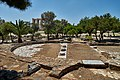 Remains of the Roman baths at the archaeological site of the Temple of Olympian Zeus on July 2, 2020.jpg