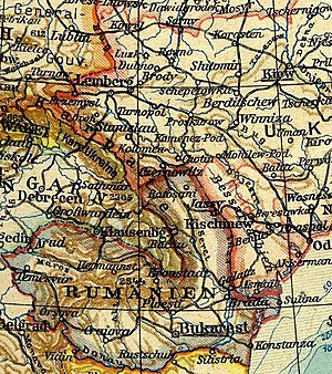 Moldavian Soviet Socialist Republic - German map of the new MSSR, sept. 1940.