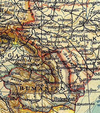 Moldavian Soviet Socialist Republic - German map of the new MSSR, sept. 1940.