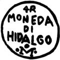 Resello de Miguel Hidalgo durante la Guerra de Independencia de México (04a).png
