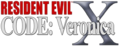 Resident Evil Code Veronica X logo.png