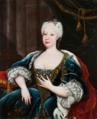 Retrato de D. Maria Bárbara de Bragança (1711-1758), Rainha de Espanha - Círculo de Louis-Michel van Loo.png