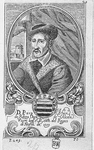 Pedro Afán de Ribera - The duke of Alcalà