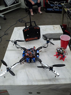 Quadcopter - A Maker Faire quadcopter in Garden City, Idaho