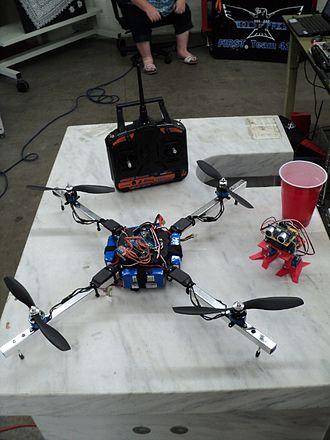 Quadcopter - A Maker Faire quadcopter in Garden City, Idaho