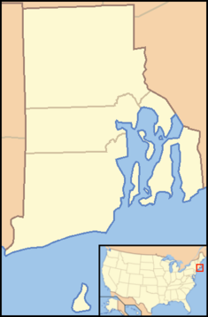 Slatersville, Rhode Island is located in Rhode Island
