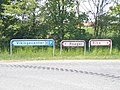 Ribe VikingeCenter - signs at Roagervej.jpg