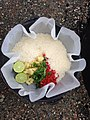 Rice and all the ingredients ready to cook (16986643296).jpg