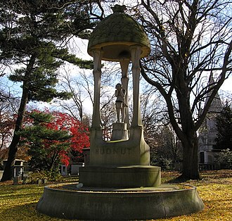 Woodlawn Cemetery (Bronx, New York) - Image: Richard Hudnut Monument November 2008