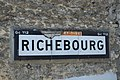 Richebourg (Yvelines) Plaque Michelin 569.jpg