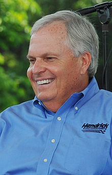 Henricks Plane Crash Auto Racing on Rick Hendrick   Wikipedia  The Free Encyclopedia