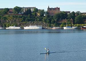 Riddarfjärden - Image: Riddarfjärden juli 2012