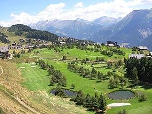Riederalp - Image: Riederalp Golfcourse