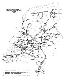 Netherlands Driving Map