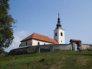 Rimavská Baňa Village in Slovakia
