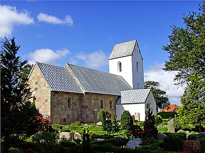 How to get to Rindum Kirke with public transit - About the place