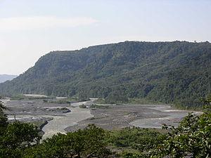 Pastaza River - The Pastaza at Mera, Pastaza Province