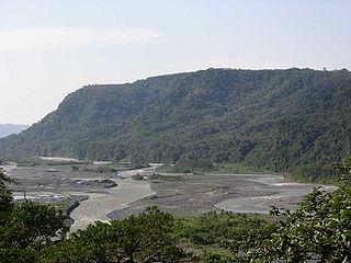 Pastaza River river in the Amazon Basin of South America