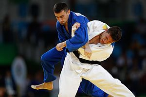 Judo at the 2016 Summer Olympics – Men's 81 kg - Image: Rio 2016 Judo 1036117 090816judo 01764