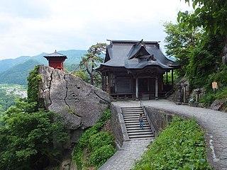 Buddhist temple in Yamagata Prefecture, Japan