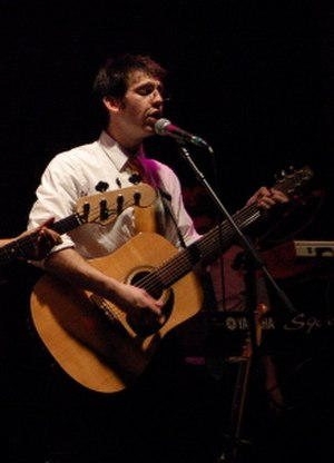 Rob Cantor - Cantor performing with Tally Hall in 2006